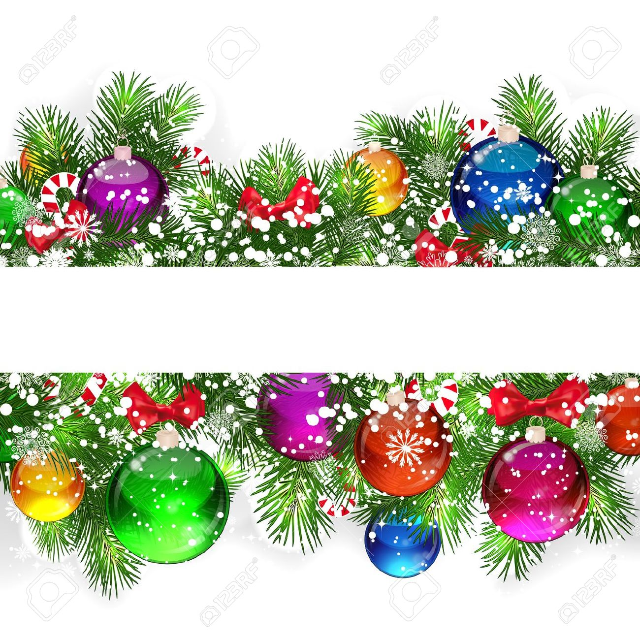 Holiday Banner Clip Art.