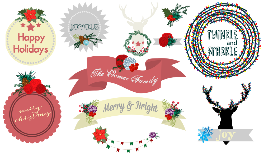 Free Christmas Banners Clip Art Download.