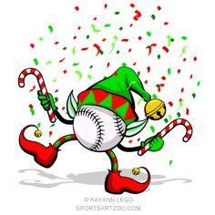 61 Best Baseball Christmas images.