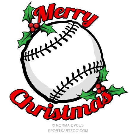 Baseball Merry Christmas.