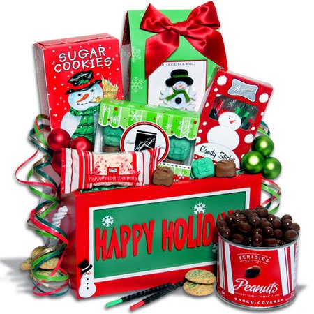 Christmas gift basket clipart 1 » Clipart Portal.