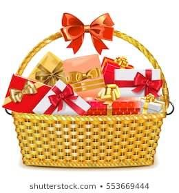 Christmas basket clipart 2 » Clipart Portal.