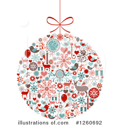 Free Christmas Bauble Clipart.