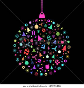 Christmas Bauble Clipart Picture.