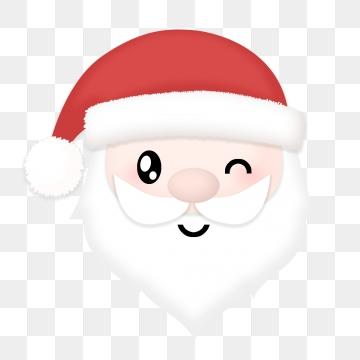 Santa Claus Beard PNG Images.