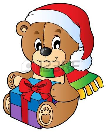7,262 Christmas Bear Cliparts, Stock Vector And Royalty Free.