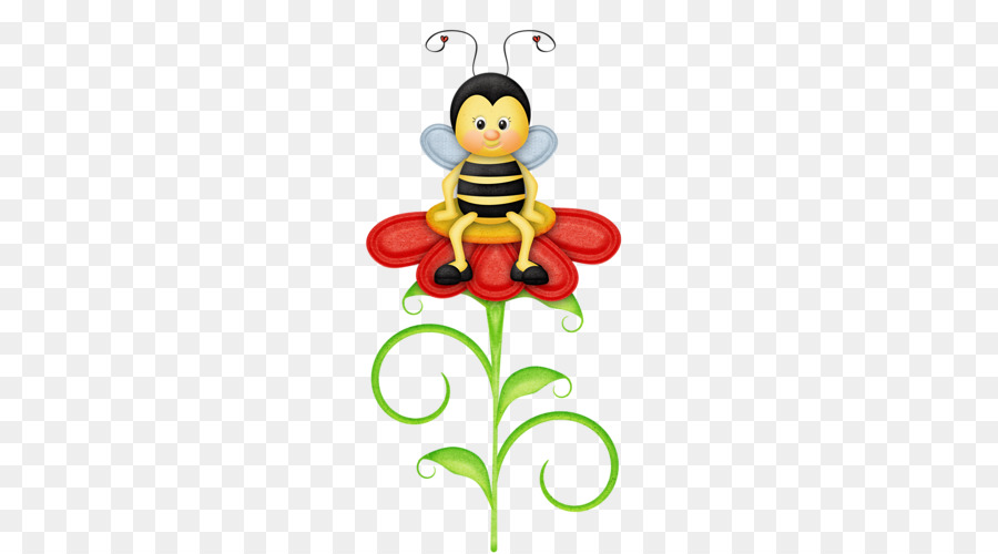 Christmas Bee clipart.