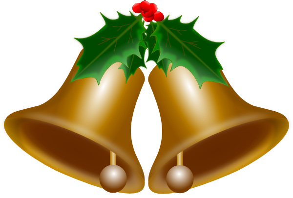 Christmas Bell Clipart.