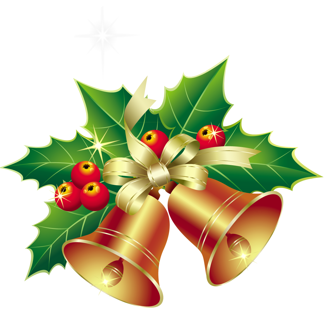 Christmas bell clipart #15