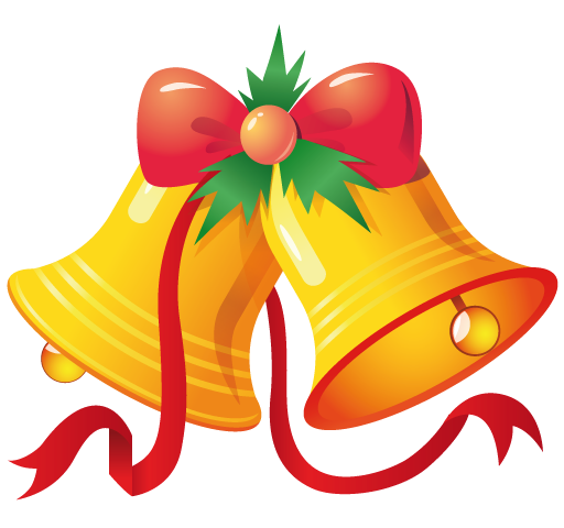Free to Use & Public Domain Christmas Bells Clip Art.