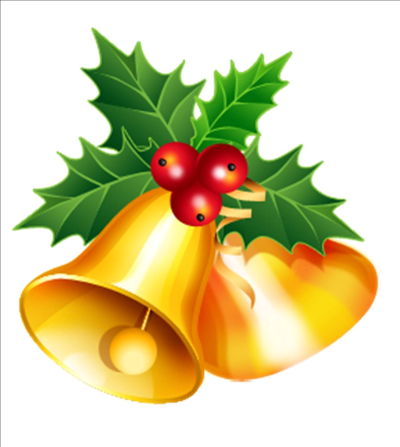 Christmas bell clipart #16
