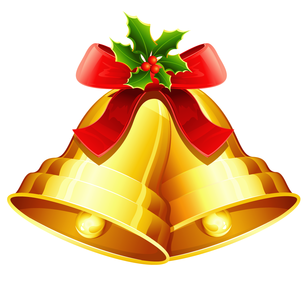 Free Christmas Clipart Bells.