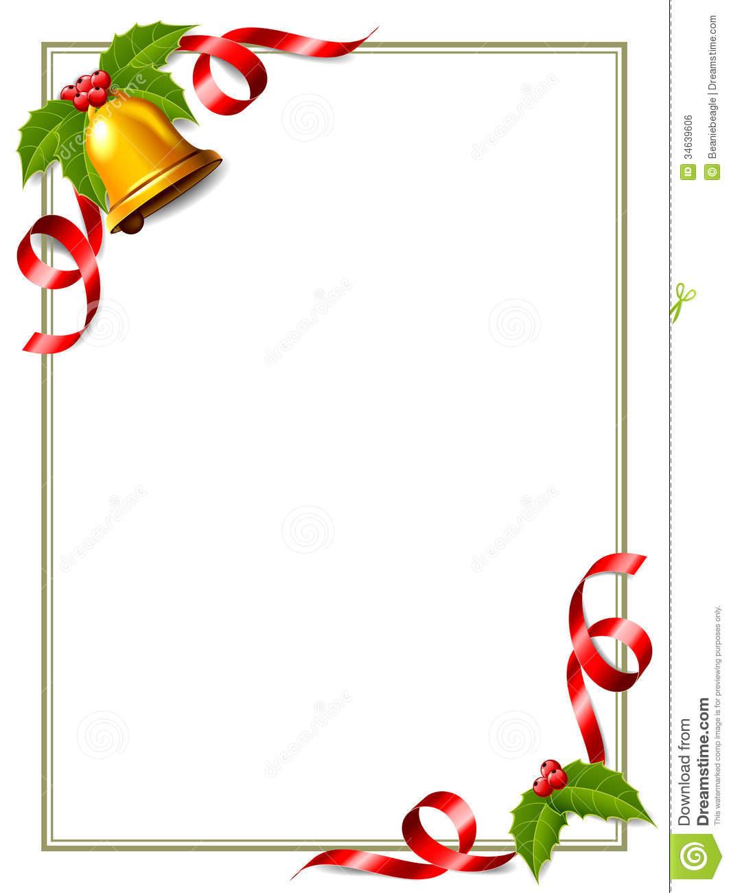 Clipart Christmas Bells Border.