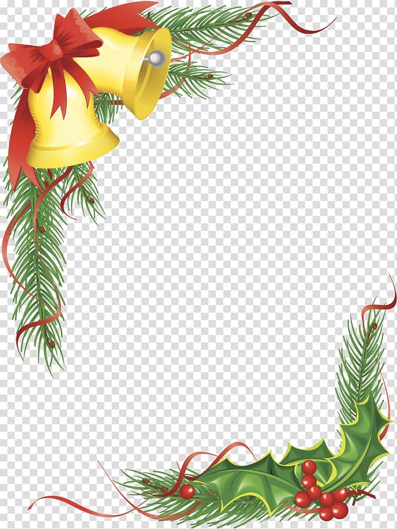 Christmas ornament Santa Claus Bell Christmas tree.