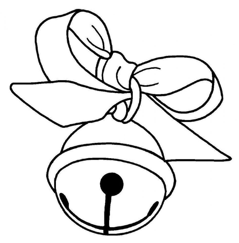 Download Coloring Pages. Christmas Bells Coloring Page: Christmas.