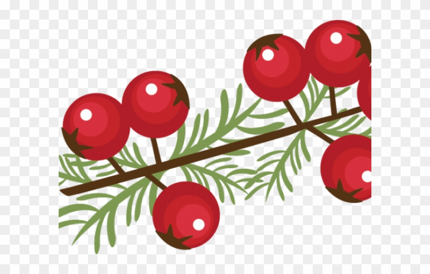 Berry Clipart Winter.