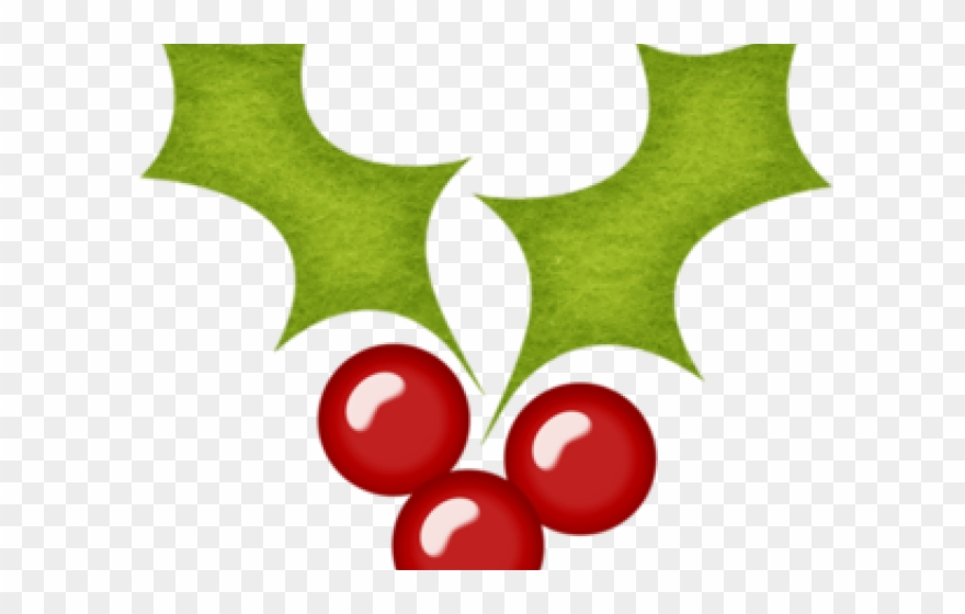 Berries Clipart Christmas.