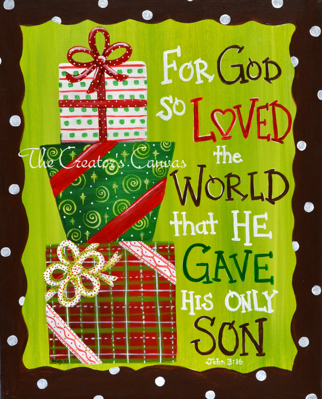 Christmas bible verse clipart.