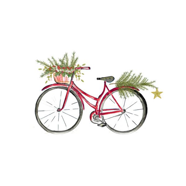 Free Bicycle Christmas Cliparts, Download Free Clip Art.