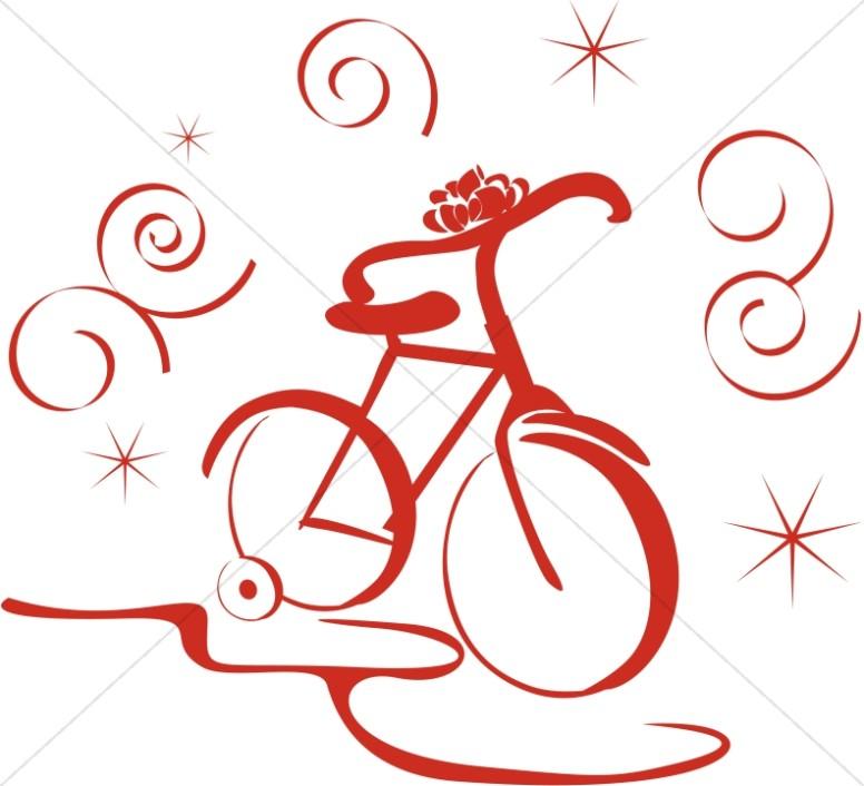 New Bike Clipart.