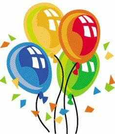 Christmas birthday balloons clipart clipartfest.