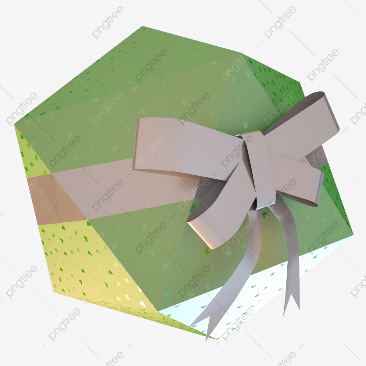 Gift Box Element Cartoon Christmas Birthday Bow, Candy Colors, Gift.