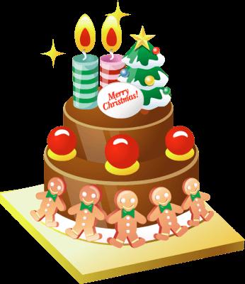 Christmas birthday clip art free.