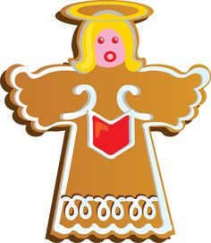 Christmas Cookie Exchange Clip Art.