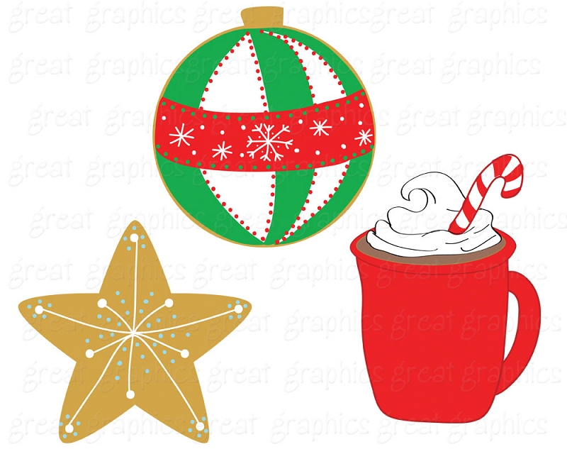 Christmas Treats Clipart.