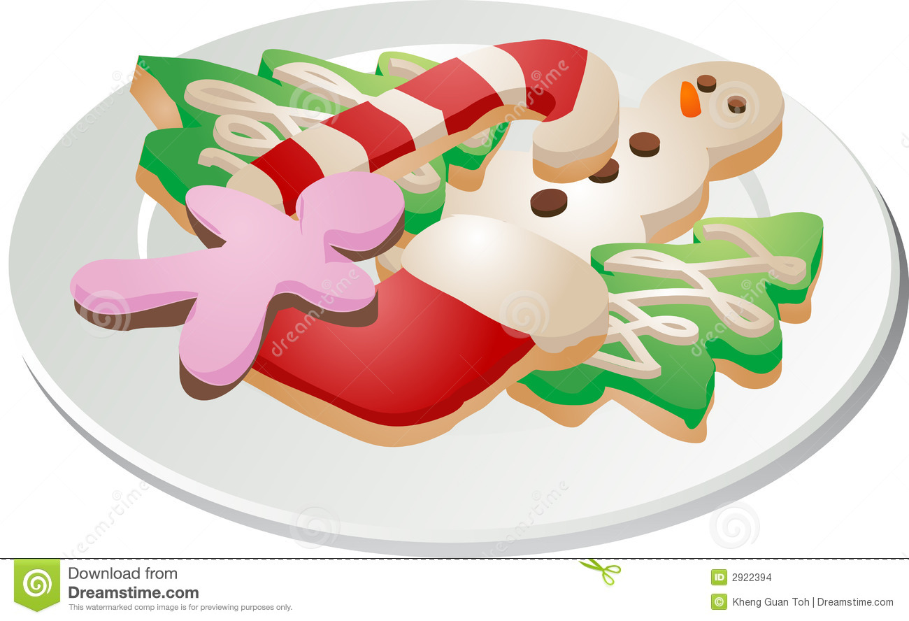 Holiday Cookie Clipart.