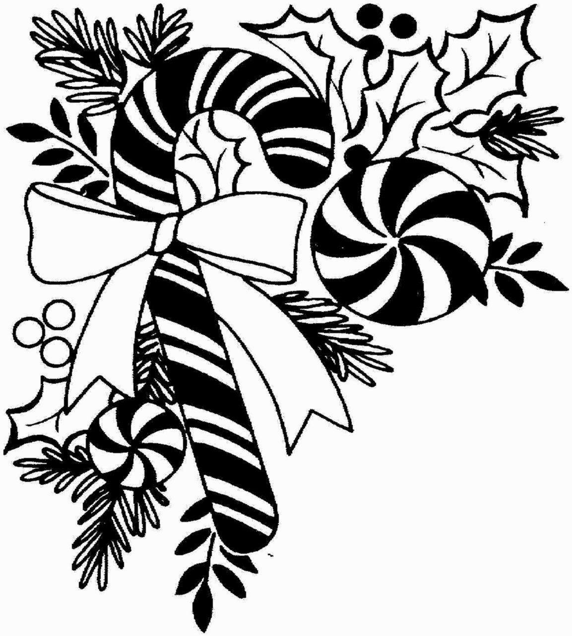 Christmas Clipart Black And White Free & Christmas Black And White.