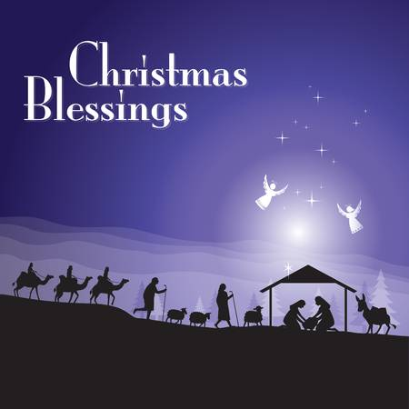 58 Christmas Blessings Stock Illustrations, Cliparts And Royalty.