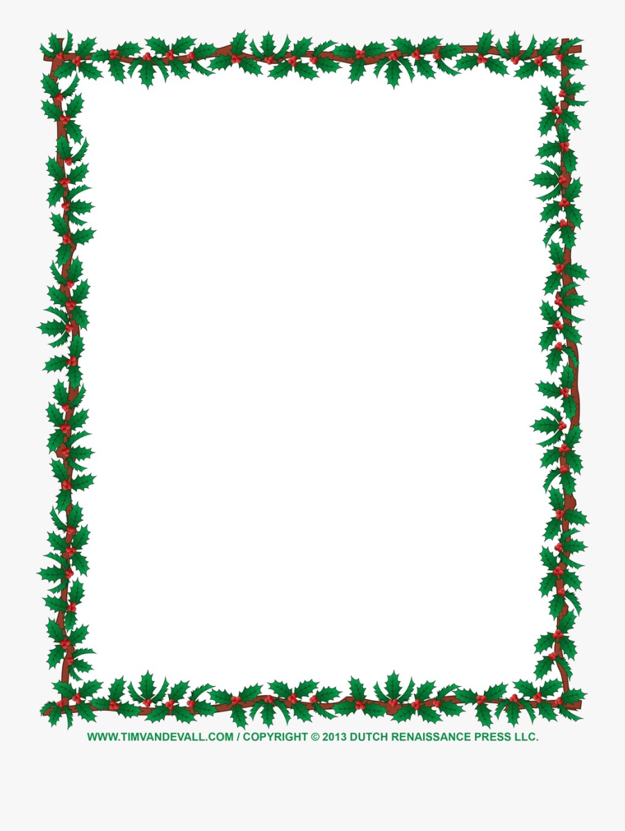 Christmas Border Clip Art Borders For Word Documents.