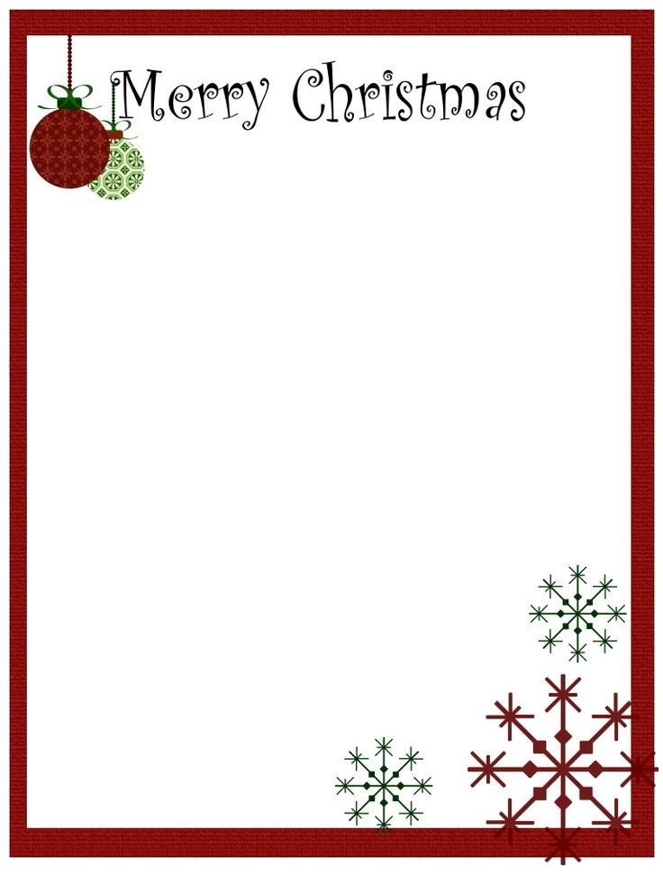 Christmas Border Clipart For Word Transparent Png.