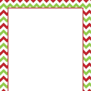 Free Christmas Border Clipart For Microsoft Word.
