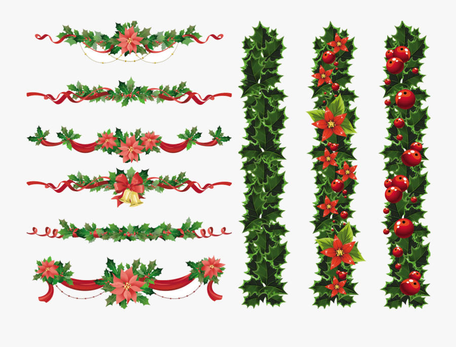 Christmas Border Free Clipart For Mac Collection Transparent.