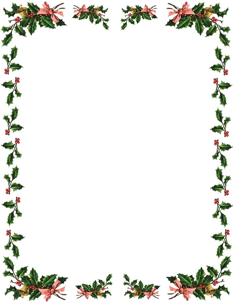 Christmas Borders For Word.