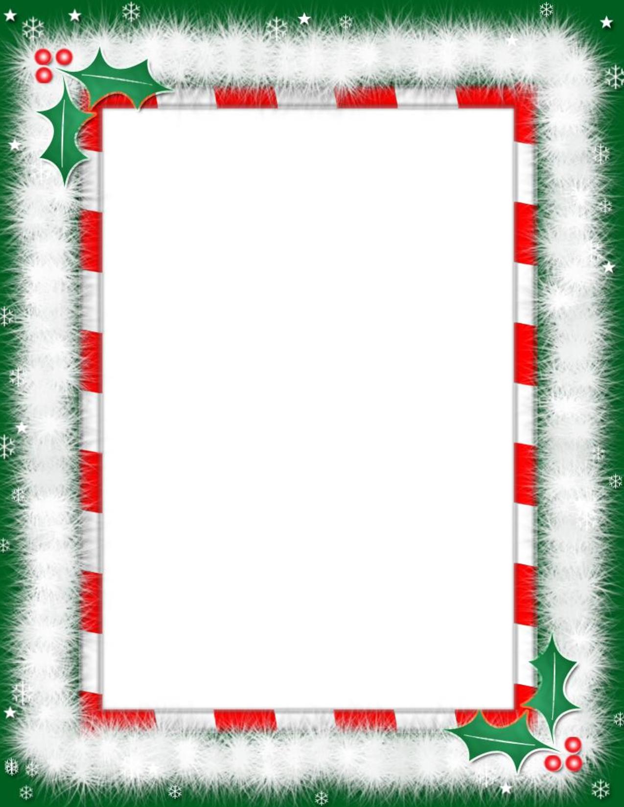 Christmas Clipart Borders Free Microsoft.