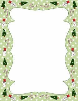 Christmas Border Clipart Free Microsoft.