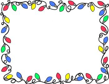 Christmas border christmas clip art borders for word.