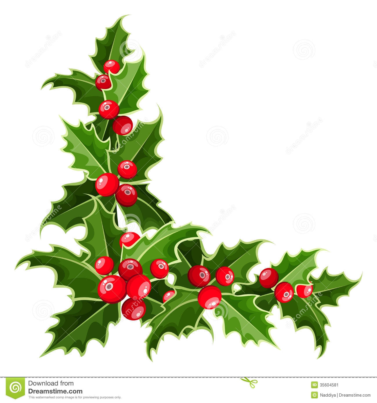christmas border corner clipart - Clipground