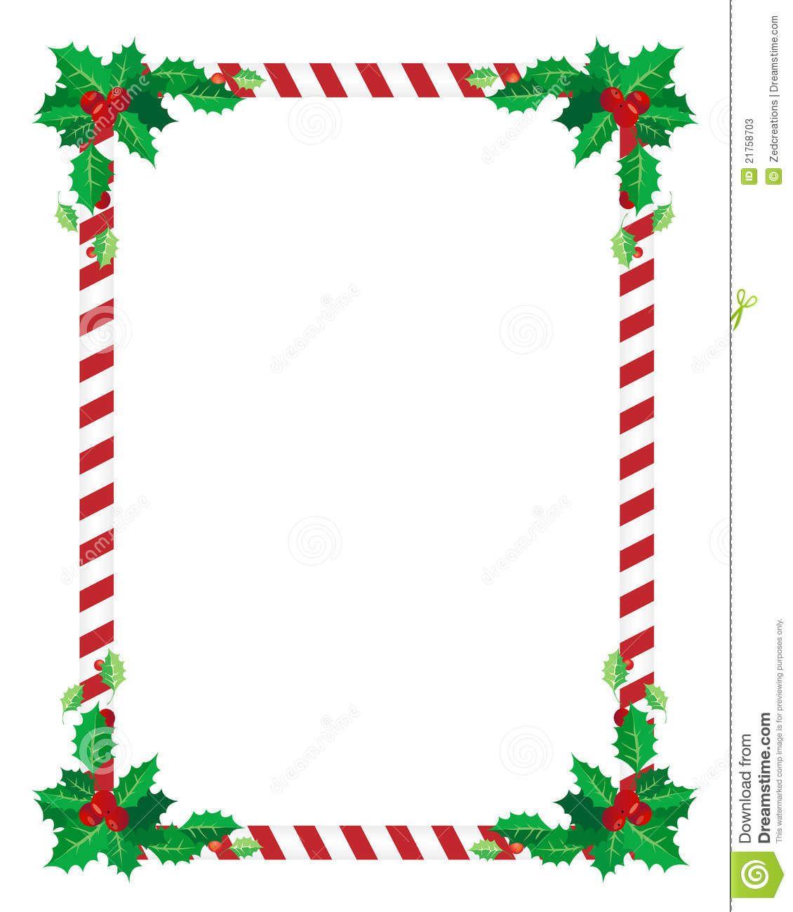 Christmas Card Borders.