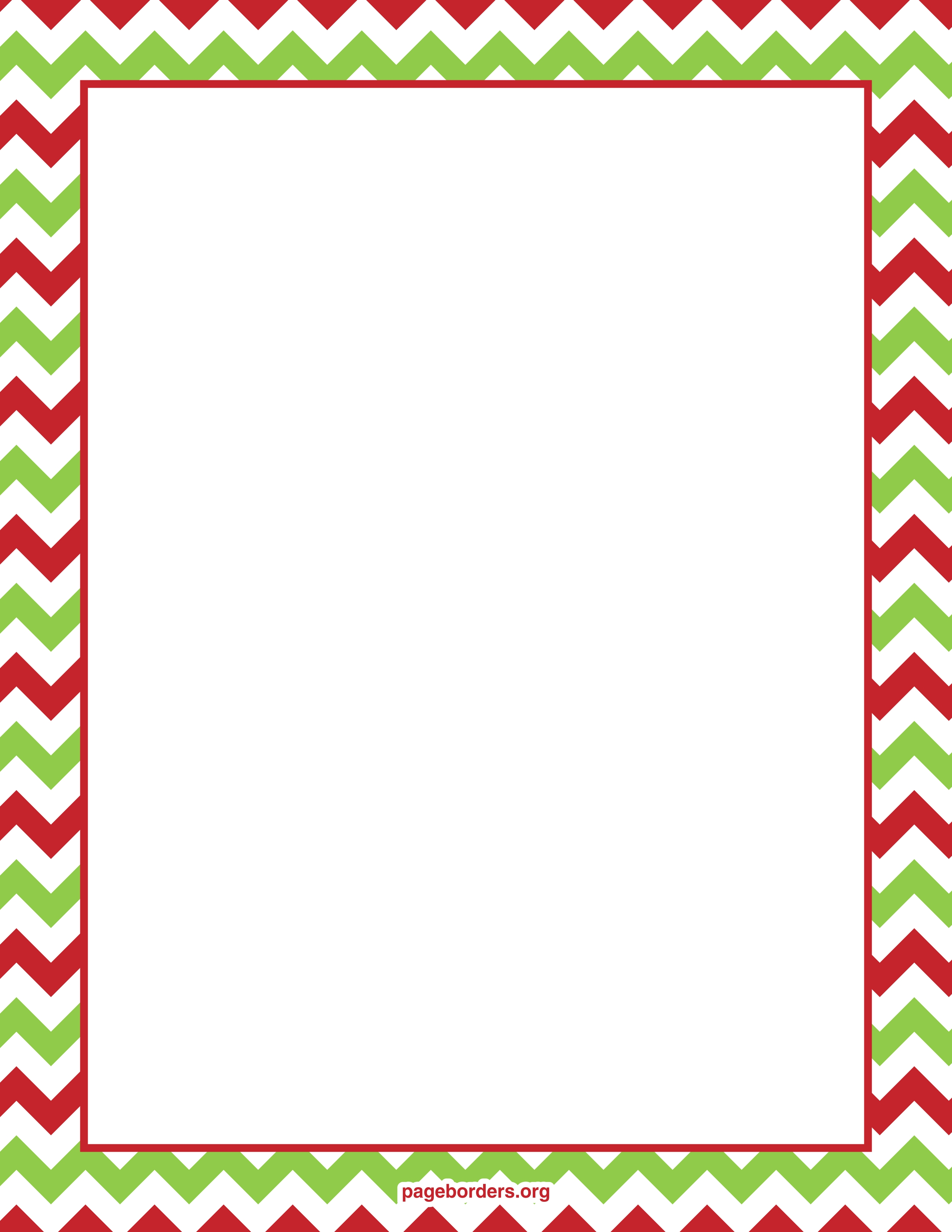 christmas border clipart free #6