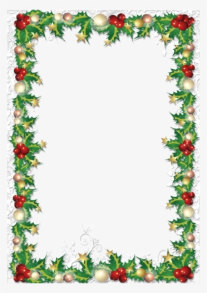 Christmas Borders Png PNG Images.