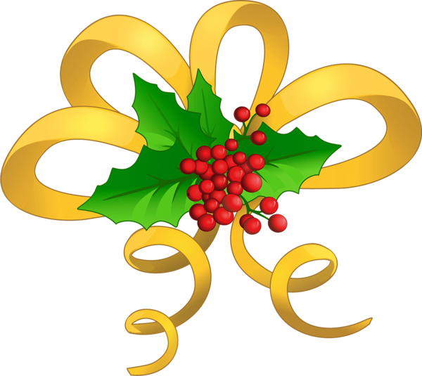 Christmas Bow Clipart Png