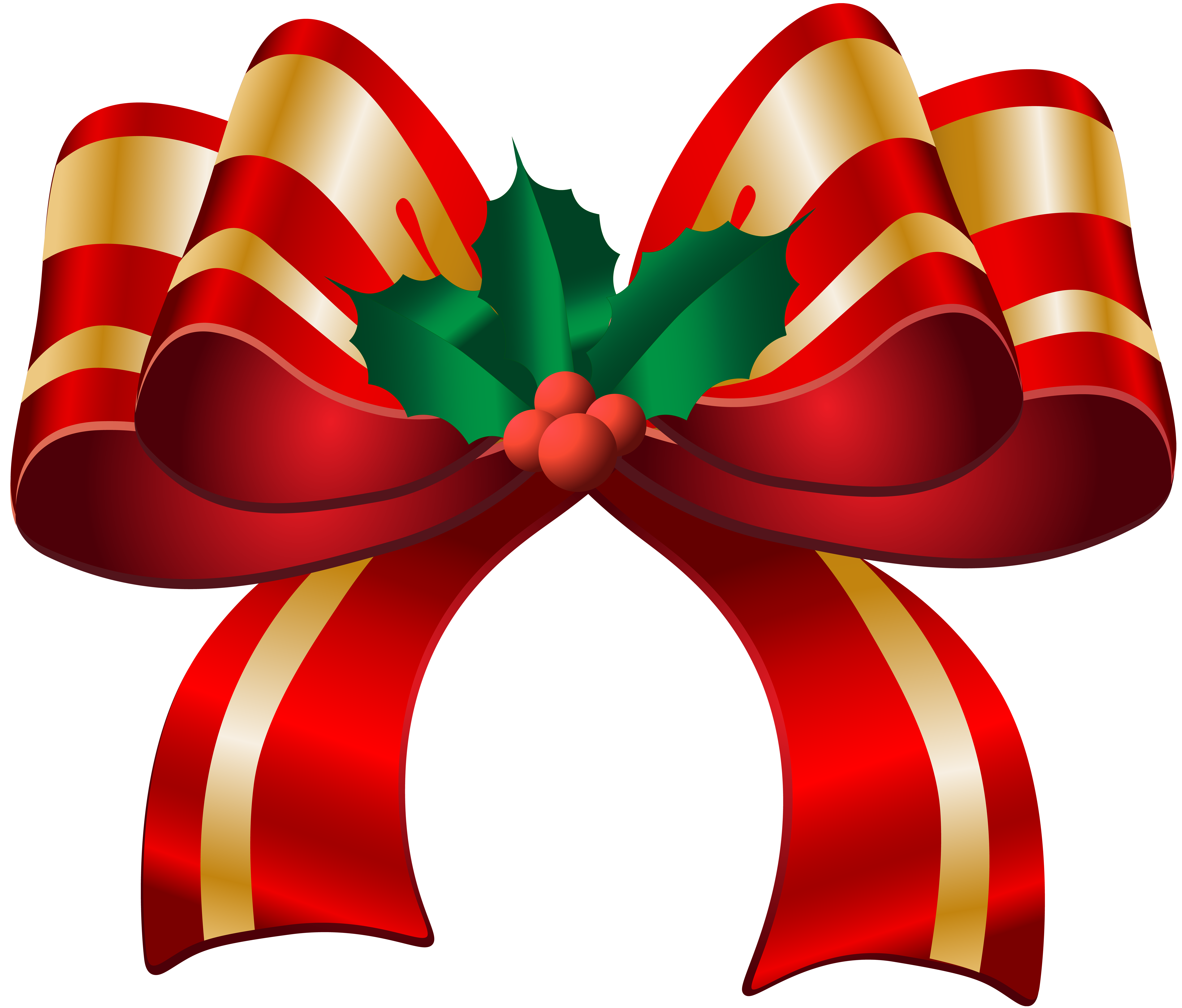 Christmas bow clipart png clipground