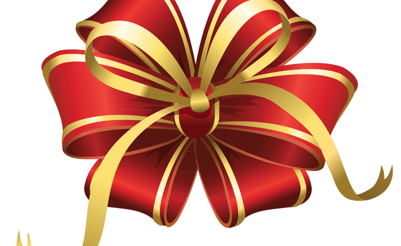 Christmas Bow Clipart Free.