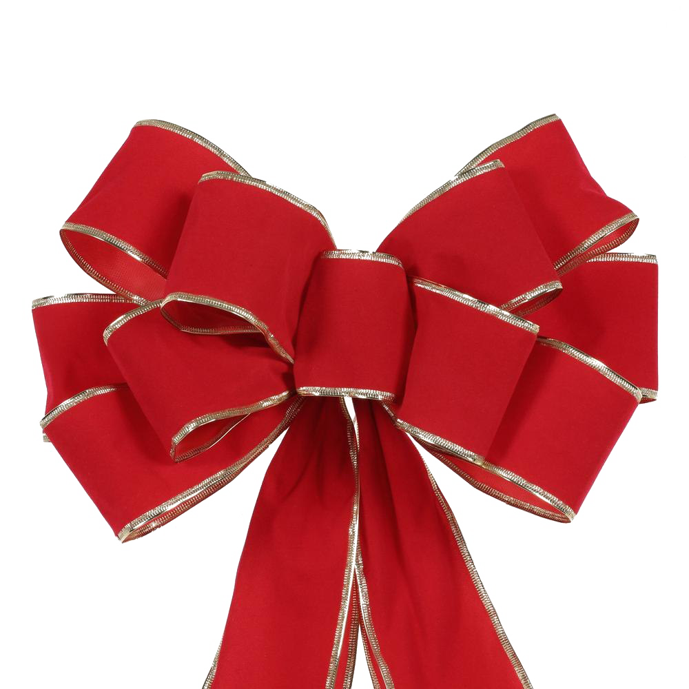 Christmas Bow Free PNG.