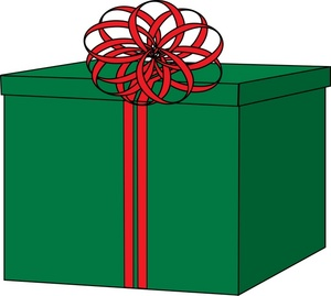 Free clipart christmas boxes.