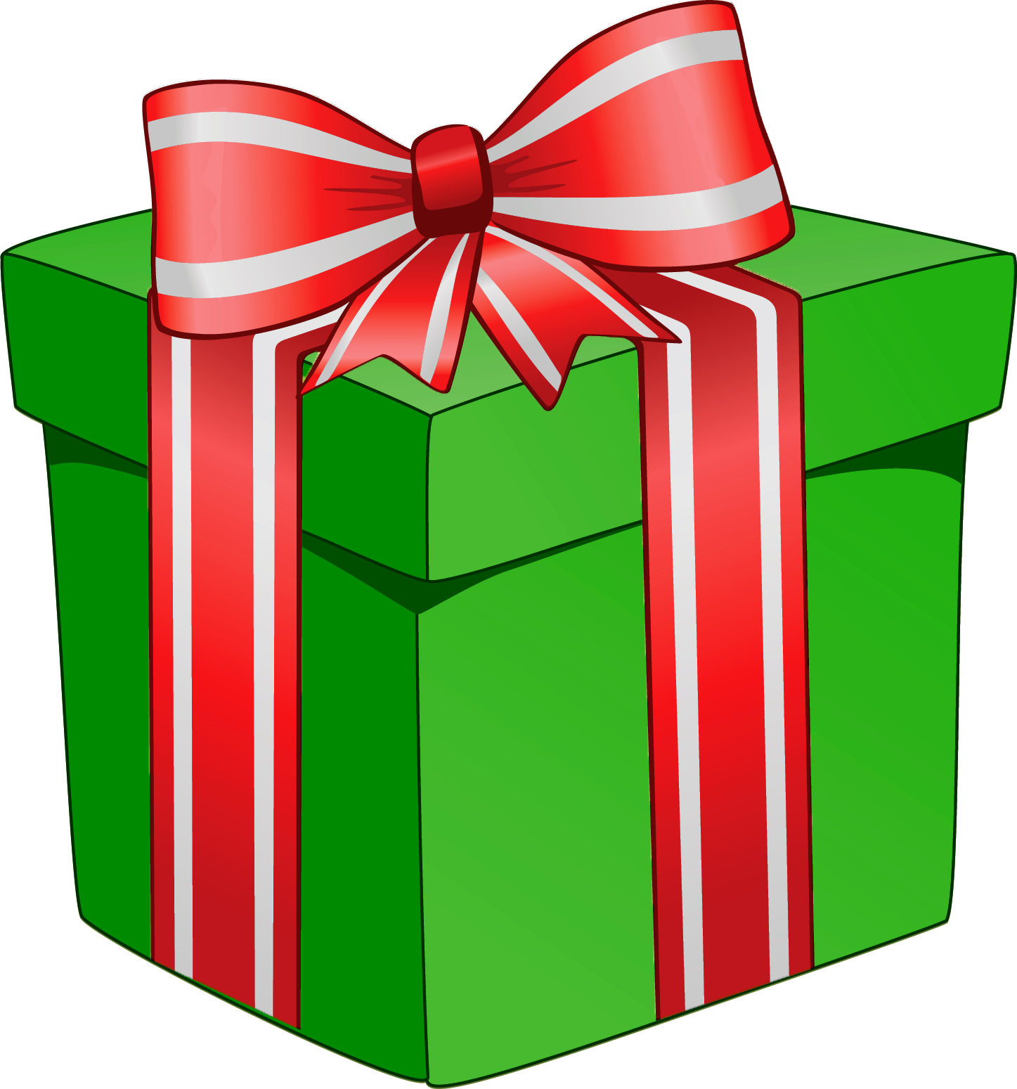 Christmas Gift Box Clipart.